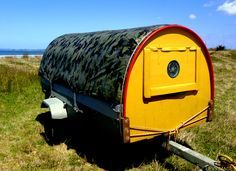 homemade camper trailer - Google Search