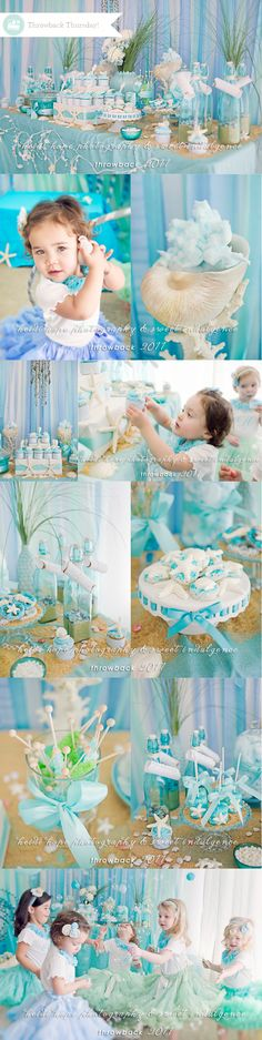 mermaid theme birthday