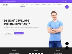 Sility - Material Design Vcard & CV HTML Template