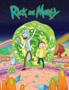 Rick and Morty (2013) is an Adult Swim cartoon about a genius mad scientist who drags his grandson along on crazy adventures. It seems to combine elements of Back to the Future, Doctor Who, Adventure Time, and Dr. Seuss.
