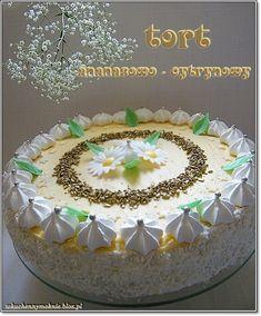 tort ananasowo-cytrynowy My Favorite Food, Favorite Recipes, My Favorite Things, Easy Cake Decorating, Smoothie Bowl, Vanilla Cake, Baking, Breakfast, Sweet