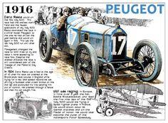 Dario Resta Peugeot 1916 | First Super Speedway