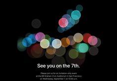 iPhone 7 : Apple annonce sa keynote pour le 7 septembre