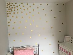 Transforming a baby room into a magical space to grow in using timeless color schemes of gray and pink for any sweet little girl.