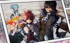 Elsword and Raven and .... who ever that is.