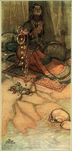 W. Heath Robinson illust. for A Song of the English by Rudyard Kipling