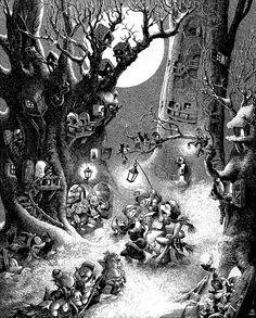 1938 ... carolers    copyright- Walt Disney
