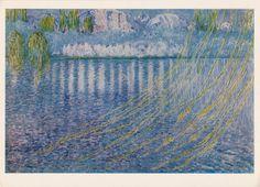 S. Bkhluladze Awakening Print Postcard  1979 by RussianSoulVintage