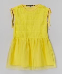 Mango Ruffle Tiered Dress - Girls