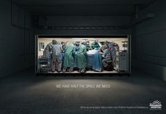 BC Children's Hospital Foundation Ads by Dare, Vancouver. #Advertising #Children #Hospital