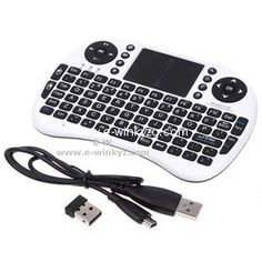 6008c15f2b3 off USB Wireless Handheld Mini Keyboard Touchpad For Android TV Box Xbox 360