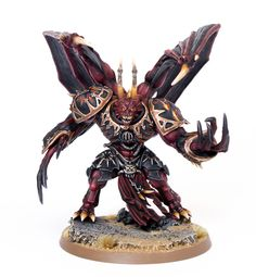 Black Legion Daemon Prince painted by Garfy
