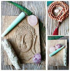 Rosewood Mala Meditation Mala Sage Bundle by MysticKeyMeditations Mala Meditation, Knowledge And Wisdom, Setting Goals, I Am Happy, Incense, Sage, Hand Carved, Journals, Salvia