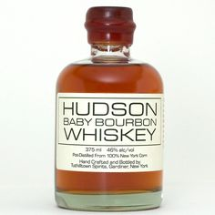 Hudson Baby Bourbon - a locally made favorite stand-by here at New Dramatists. Like settling into an old rocking chair.