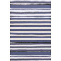 You'll love the Indoor/Outdoor Blue/White Area Rug at Wayfair - Great Deals on all Rugs products with Free Shipping on most stuff, even the big stuff.