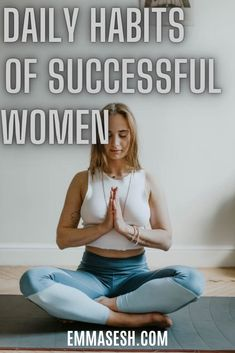 Successful people keep certain habits in the morning to maintain their lives, when you practice them daily in the morning, you're more likely to succeed in your life Meditation Stress, Meditation Benefits, Meditation For Beginners, Yoga Poses For Beginners, Guided Meditation, Meditation Techniques, Meditation Space, Mindfulness Meditation, Pranayama Benefits