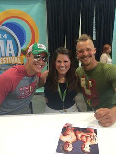 Pete and Dan at CMA Fest.