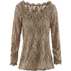 Lyla Lyla 2 In 1 Longshirt ($78) ❤ liked on Polyvore