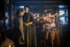 new BTS stills of Outlander Episode 2×03