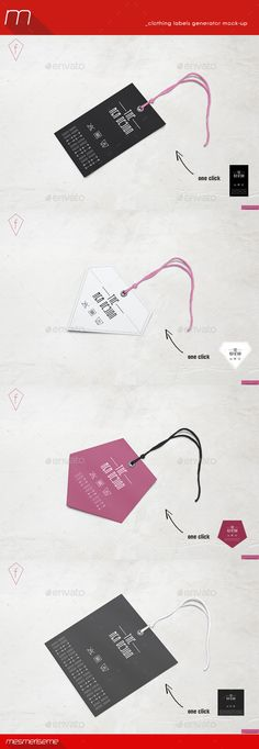 Clothing Hang Tags Generator Mock-up | #clothingtagsmockup | Download: http://graphicriver.net/item/clothing-hang-tags-generator-mockup/9350358?ref=ksioks (Business Card Mockup Layout)