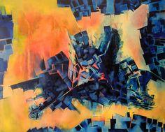"""Fuego interior"" - Fernando Gastron - Oleo sobre tela - 80 x 100 cm - www.esencialismo.com"