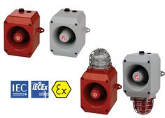 Intrinsically safe alarm horn sounders for Zone 0 Signalling