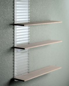 Single Floating Shelf With Acrylic Sliding Doors | Sliding Door, Shelves  And Acrylics