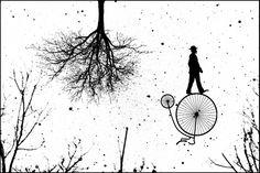 """Kafka"" - digital collage"