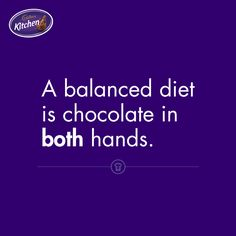 Would you agree? Cadbury Chocolate, Dark Chocolate Bar, Best Chocolate, Cadbury Kitchen, Balanced Diet, Confectionery, Cute Quotes, Anonymous, Caption