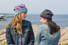 Knit in either #Fresco or #Liberty Wool Light, this Fair Isle hat is a great piece to knit now for fall!