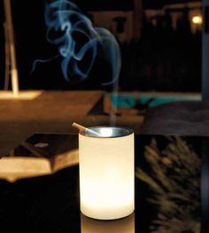 lmpara cenicero sin cables y mando jardin jardines iluminacion decoracion led