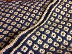 Reversable blanket finally done.