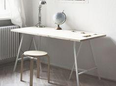 Tutorial DIY: Zbuduj praktyczne biurko z przegródkami przez DaWanda.com