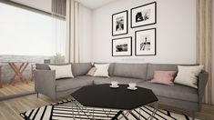 Interior design of a living room in Bratislava in #scandinaviandesign by @avedesign.sk / Návrh dizajnu obývačky v 2-izbovom byte v Bratislave v škandinávskom style od #avedesign / #interiordesign #interierovydesign #interior123 #navrhinterieru #interiorarchitecture #interiorarchitect #interiordesigner #interiors #interiorstyle #interiordesignideas #vizualizacia #slovenskydesign #interierovydizajnslovensko #obyvacka #bytovydizajn #dizajnslovensko #interior123 #interior_delux #interiorinspiration Scandinavian Interior Design, Scandinavian Style, Living Room Inspiration, Couch, Furniture, Home Decor, Settee, Decoration Home, Sofa