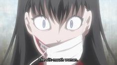 Cartoon List, Girl Cartoon, Kuchisake Onna, Japanese Urban Legends, Japanese Horror, Horror Movie Characters, Demon Girl, Cartoon Art Styles, Monster Girl