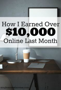 Have you ever wondered how a blogger makes money? Today I'm sharing in detail how I earned over $10,000 last month as a blogger, freelance writer, and virtual assistant.