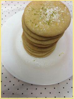 Margarita Cookies!! A boozy twist on sugar cookies