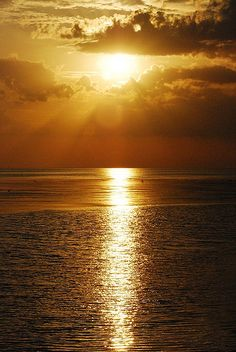 Golden Sunset, Keaton Beach, Florida