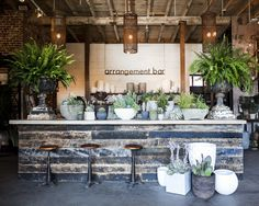 "Between two locations—one in a historic building in downtown L.A., one in the hills of Culver City—this nursery offers every plant a Southern California gardener might desire. Its owners keep an eye on design trends, too, amping up their offerings of succulents and cacti in recent years and selling a wide variety of fiddle leaf fig and palm trees. They offer landscape design services; create custom plantings or bouquets at their on-site ""arrangement bars""; and host frequent workshops on…"