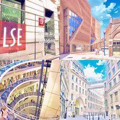 London School Of Economics, Times Square, Building, Instagram Posts, Travel, Viajes, Buildings, Traveling, Trips