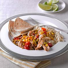 Try this Cuban chicken slow cooker recipe and let your tastebuds head to warmer climates: http://www.bhg.com/recipes/slow-cooker/chicken/our-best-slow-cooker-chicken/?socsrc=bhgpin100714cubanchicken&page=6