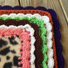 Learn how to make a simple fleece blanket fabulous with this tutorial! Patterns for five borders included!