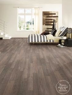 Dreamfloor Classic Brick Oak - my flooring (not my house pictured here. Hardwood Floors, Flooring, New Home Designs, Trendy Colors, Decoration, My House, Brick, New Homes, House Design