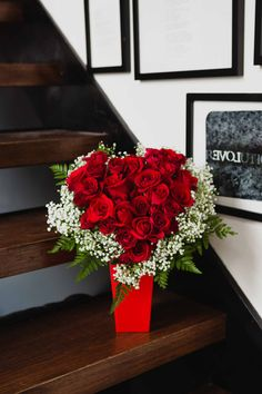 Heart and Soul | Valentine's Day Flowers | Romantic Gift | Valentine | Red Roses | Romance | #teleflora #flowers