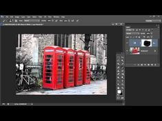 Photoshop - Masks 101 - Spot Color effect