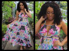 DIY Maxi Vestido Super Fácil \ DIY Maxi Dress
