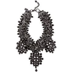 Chunky jet necklace ❤ liked on Polyvore featuring jewelry, necklaces, accessories, collares, chunky jewelry, chunky necklace, collar necklace, collar jewelry and chunk jewelry