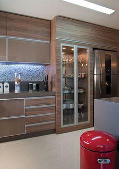 cozinha planejada marrom e bege - Pesquisa Google: