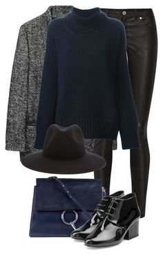 """Untitled #2245"" by rosyfilm ❤ liked on Polyvore featuring Étoile Isabel Marant, Acne Studios, Forte Forte, Chloé, Robert Clergerie and rag & bone"