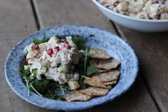 Our Creative Director, Suzy Collins, has a yummy recipe to share with you that is perfect for summer! If you love chicken salad, but often avoid it because it's high in calories and fat, this chicken salad can remove those worries from your mind! Not only is it delicious, but it's packed with protein and all around good fuel for your body! You can check out the original recipe here. What you'll need: (Serves 6 generously) 1 traditional rotisserie chicken1 cup of Greek yogurt2 small appl...